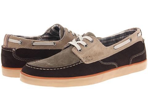 Pantofi Clarks - Jax - Taupe/Olive/Espresso Suede