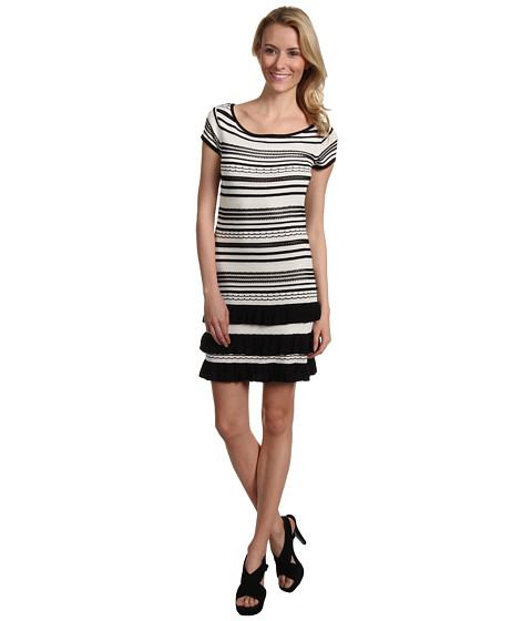 Rochii Max and Cleo - Alyssa Knit Casual Dress - Black Combo