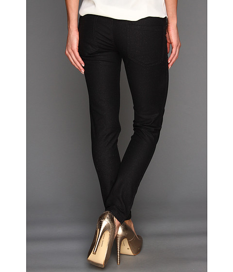 Pantaloni BCBGeneration - Jasper Reversible Skinny Jean - Black/Coral