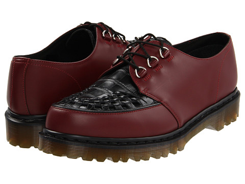 Pantofi Dr. Martens - Ramsey Creeper - Cherry Red/Black