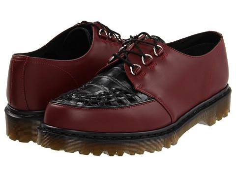 Pantofi Dr. Martens - Ramsey Creeper - Cherry Red/Black