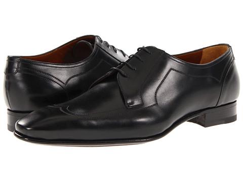 Pantofi A. Testoni - Lux Wingtip Oxford - Black