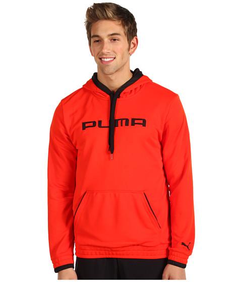 Bluze PUMA - Post-Game Pullover Hoodie - Miami Red/Black