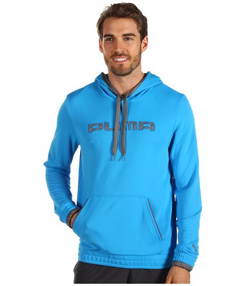 Bluze PUMA - Post-Game Pullover Hoodie - Malibu Blue/Quiet Shade