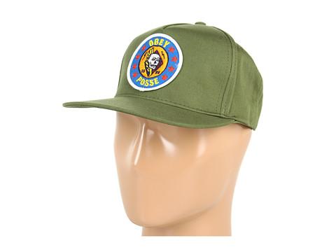 Sepci Obey - Kill Em All Snapback Hat - Cedar Green