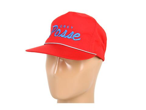 Sepci Obey - Lo Posse Snapback Hat - Orange