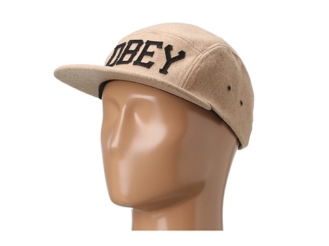 Sepci Obey - Stadium 5 Panel Hat - Heather Oatmeal
