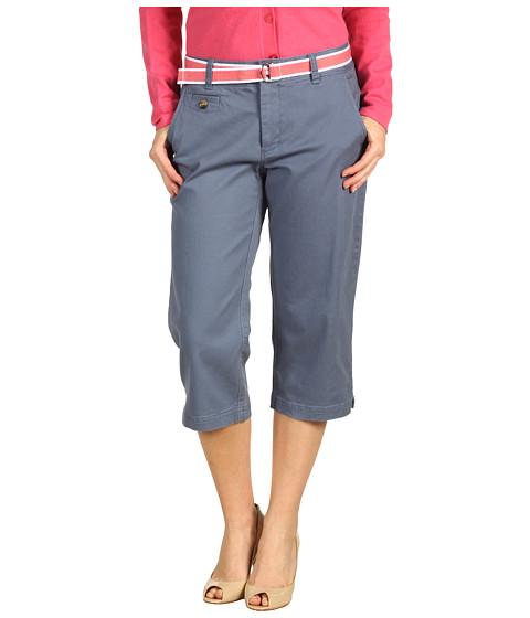 Pantaloni Dockers - Petite Soft Belted Capri - Deck Blue