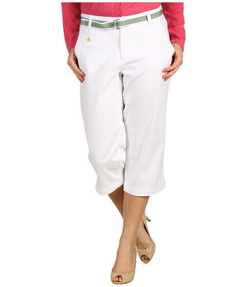 Pantaloni Dockers - Petite Soft Belted Capri - Paper White