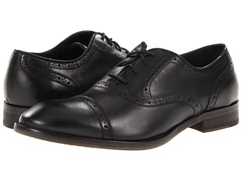 Pantofi John Varvatos - Dearborn Captoe - Black