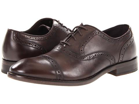 Pantofi John Varvatos - Dearborn Captoe - Espresso