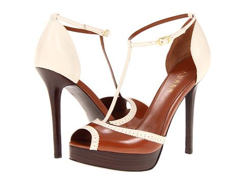 Pantofi LAUREN Ralph Lauren - Dallas - Eggshell/Polo Tan