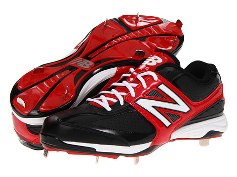Adidasi New Balance - MB4040 Metal Low-Cut Cleat - Black/Red