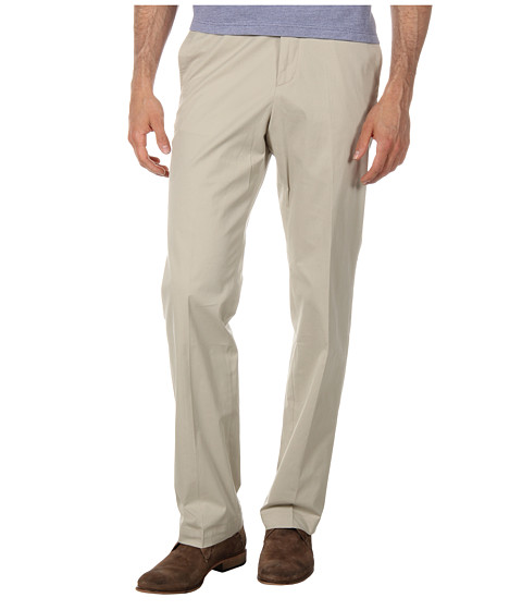 Pantaloni Lacoste - Cotton Stretch Gabardine Golf Pant - Dark Parchment