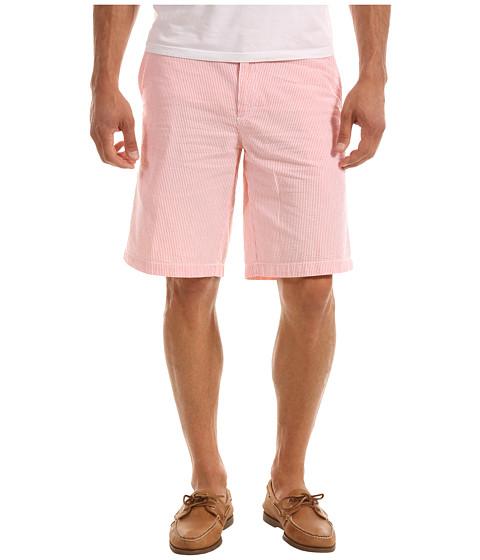Pantaloni IZOD - Seersucker Flat Short - Living Coral