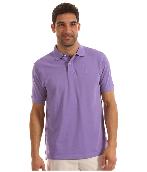 Tricouri IZOD - Short Sleeve Heritage Basic Pique Polo - Dahlia Purple