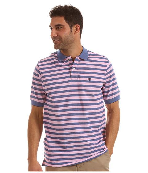 Tricouri IZOD - Short Sleeve Oxford Stripe Pique - Blueprint