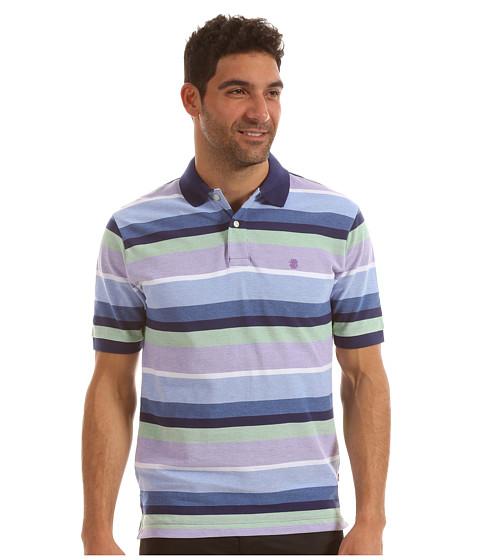 Tricouri IZOD - Short Sleeve Oxford Wide Stripe Pique - Dahlia Purple