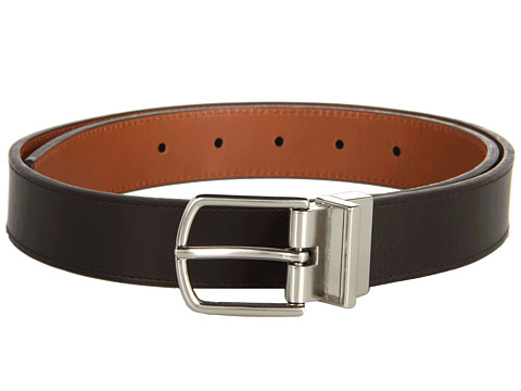 Curele Michael Kors - 30Mm Reversible With Horseshoe Buckle And Top Stitch - Brown