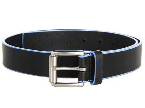Curele Michael Kors - 32Mm Edge Painted Veg Belt With Thick Roller Buckle - Blue