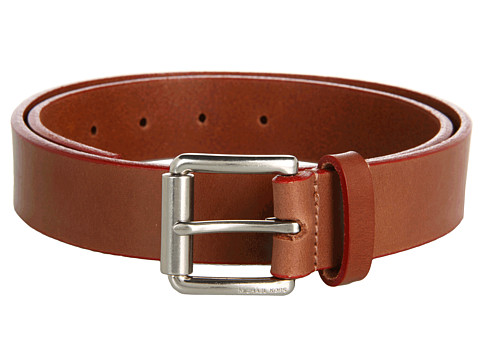Curele Michael Kors - 32Mm Edge Painted Veg Belt With Thick Roller Buckle - Red