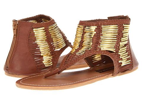 Sandale Steven by Steve Madden - Vega - Cognac Leather