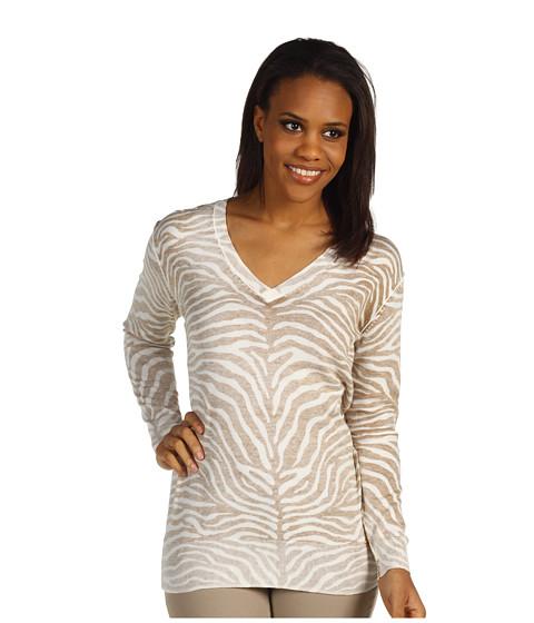 Bluze Michael Kors - Zebra Inside Out L/S Sweater - Khaki