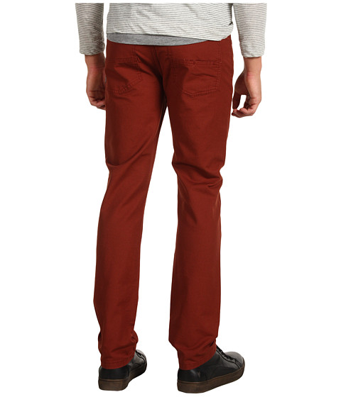 Pantaloni Element - Desoto Twill Pant in Mahogany - Mahogany