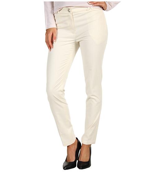 Pantaloni Lacoste - Brushed Stretch Gabardine Cropped Chino - French Vanilla Cream