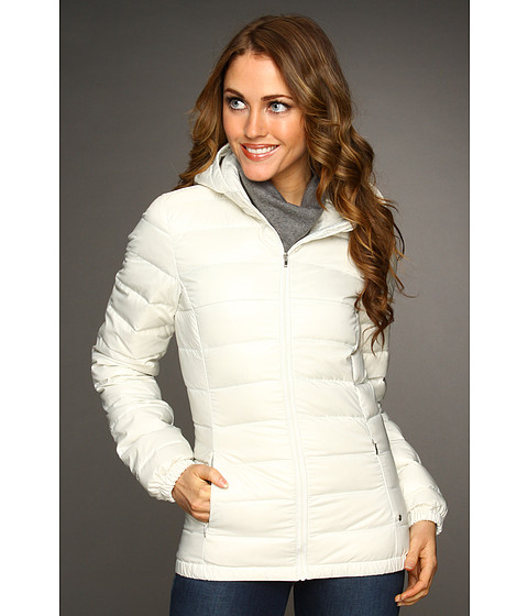 Jachete Lacoste - Quilted Hooded Puffer Jacket - Cake Flour White