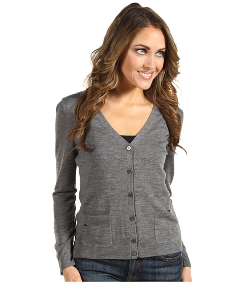Bluze Lacoste - L/S Extra Fine Merino Wool Cardigan Sweater - Stone Grey