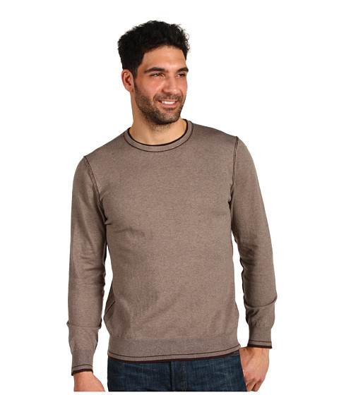 Bluze Tommy Bahama - Johnny Cashmere Crew - Almond Heather