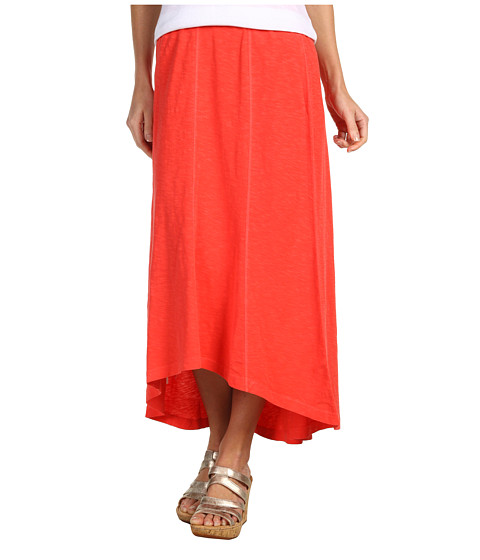 Fuste Tommy Bahama - Arden Jersey High-Low Skirt - Bright Coral