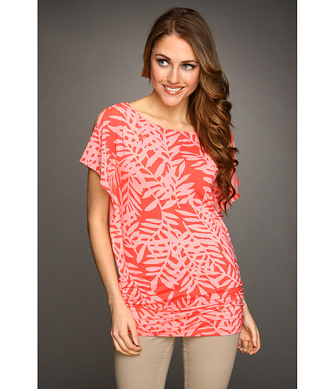 Tricouri Tommy Bahama - Lace Fern Top - Bright Coral