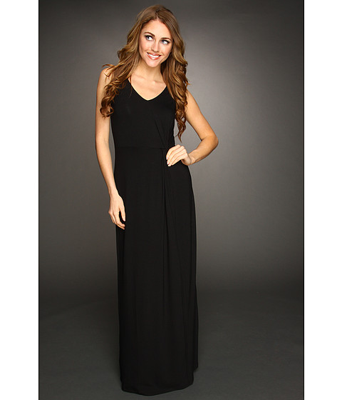 Rochii Tommy Bahama - Tambour Knotted Long Dress - Black