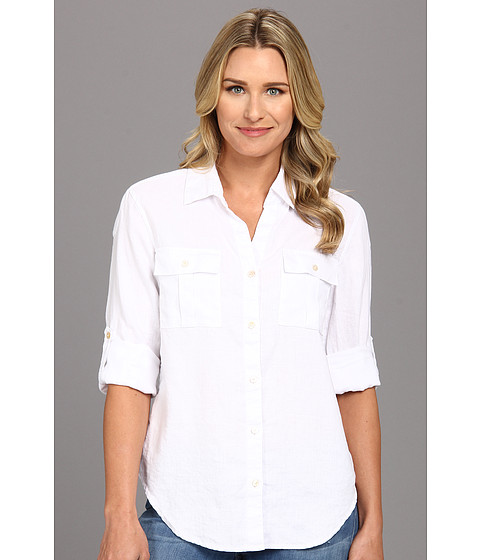 Camasi Tommy Bahama - Two Palms Easy Shirt - White
