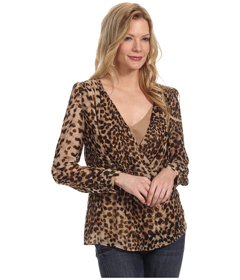 Bluze Anne Klein New York - Leopard Print L/S Blouse - Camel Multi