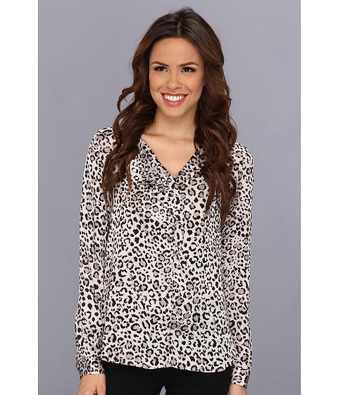 Bluze Anne Klein New York - Leopard Print L/S Blouse - Platinum Multi