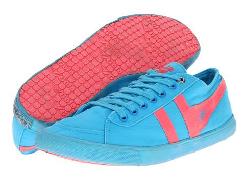 Adidasi Gola - Quota - Neon - Neon Blue/Neon Pink