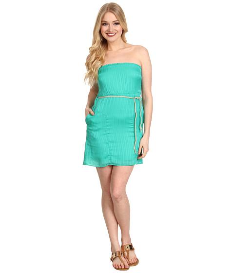 Rochii Volcom - Sail To The Stone Dress - Bright Turquoise