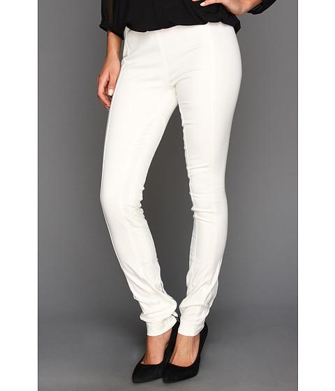Pantaloni BCBGMAXAZRIA - Slater Paneled Legging - White