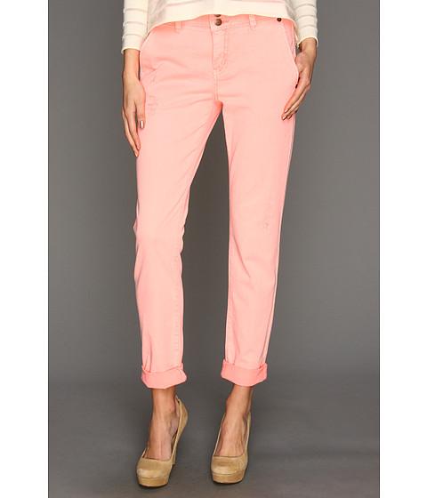 Pantaloni BCBGeneration - Johnny Destroyed Trouser Jean - Neon Pink