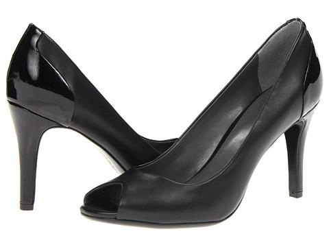 Pantofi Calvin Klein - Krista - Black Shiny S Nappa/Patent