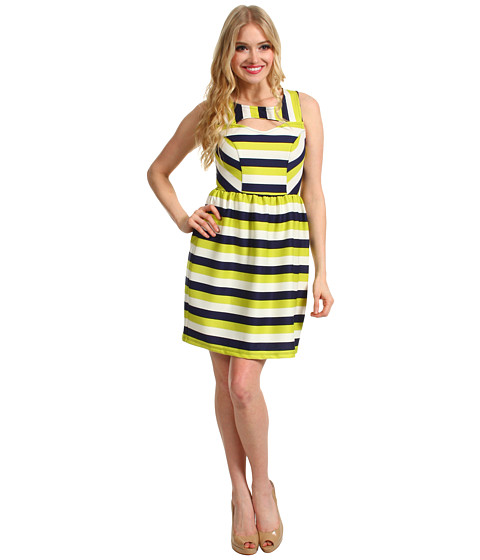 Rochii Gabriella Rocha - Roline Cut Out Dress - Lime/Navy