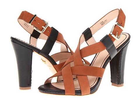 Pantofi Pour La Victoire - Vy - Black/Cognac Vachetta/Nubuck