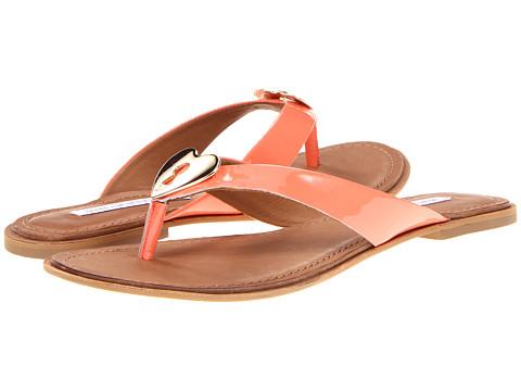 Sandale Diane Von Furstenberg - Kyra - Peach Nectar Patent