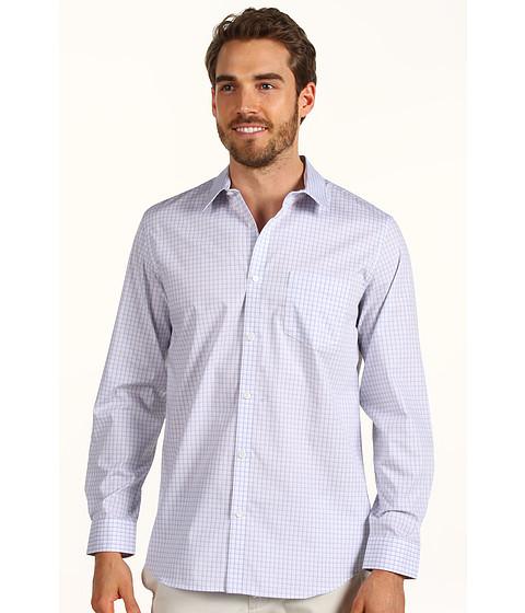 Tricouri Calvin Klein - L/S Yarn Dye End On End Check Poplin Woven Shirt - Grey Dawn