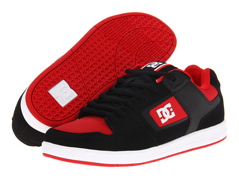 Adidasi DC - Factory Lite - Black/True Red/White