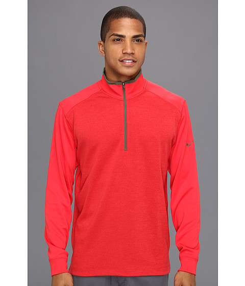 Bluze Nike - New Dri-FIT 1/2 Zip Cover Up - Hyper Red