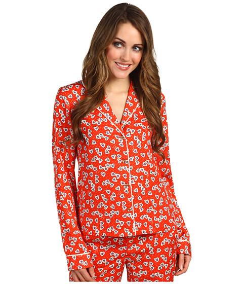 Lenjerie Juicy Couture - Hearts Pajama Top - Siren Valentine Hearts